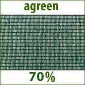 Agreen Затеняюшая Сетка 70 % затенения в рулонах