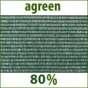 Agreen Затеняюшая Сетка 80 % затенения в рулонах