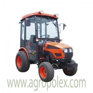 Мини-трактор KIOTI CK22H CAB, автомат. КПП (Корея)